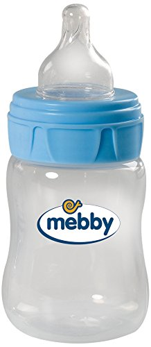 Biberon PP Mebby 150ml Silicon Blue